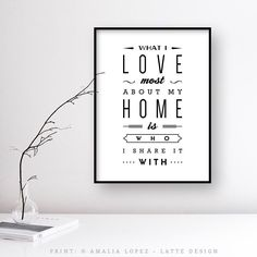 What I love most about my home is who share it with