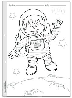 Tiny Traces Years of Pre-School Education Set (Planned) - Preschool Children Akctivitiys Preschool Art Activities, Space Activities, Space Party, Space Theme, Painting For Kids, Art For Kids, Army Birthday Parties, Space Classroom, Space Shuttle