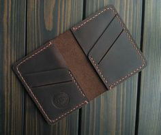 Christmas gifts Mini Wallet Distressed Leather Brown card holder Boyfriend gift Small wallet Thin wallet Card case gift Personalized gift Labor Day Best friend gift for dad Brown card holder Boyfriend gift Small thin wallet Card case gift