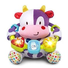 Cuddle and learn with the Lil' Critters Musical Beads Purple by VTech. Press the light-up buttons or spin the square bead to hear cheerful songs and phrases that teach shapes colors numbers and lett...