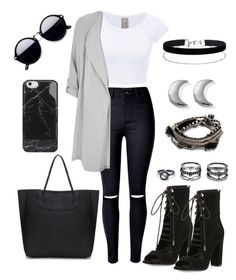 """""""Untitled #128"""" by b-lee25 ❤ liked on Polyvore featuring WithChic, Kendall + Kylie, River Island, Miss Selfridge, Pieces, LULUS and ChloBo"""
