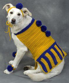sweaters Dog crochet