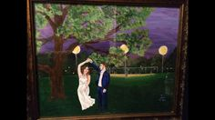 A dance to remember, acrylic on canvas 2015 by Jessica Torrey. Commissioned piece