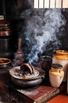 Finding beef in God's own country: beef biryani being cooked at a  household. Photograph: Vidura Jung Bahadur #biryani #love