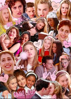 Clueless (collage) by bumblebee iPhone 5 tough case Clueless Outfits, Clueless Fashion, Clueless 1995, Aesthetic Iphone Wallpaper, Aesthetic Wallpapers, Clueless Aesthetic, Handy Wallpaper, Mean Girls, Pink Aesthetic