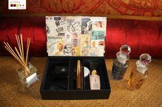 handmade. versatile box with a movable tray that fits many uses  caixa versátil com tabuleiro amovível, feita à mão