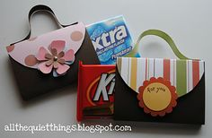 """Little """"treat"""" boxes - revamp for girls tea party idea"""