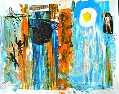 "Saatchi Art Artist Geoff Howard; Painting, ""21st Century Mish Mash 2"" #art"