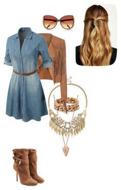 """Untitled #60"" by shaziwazi on Polyvore featuring Burberry, Pamela Love, STELLA McCARTNEY, Sole Society, Glamorous, LE3NO and Natasha Accessories"