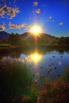 ~~Closing Time   sunset falls on Boulder, Colorado by splinx1~~