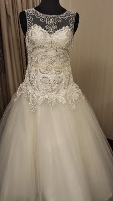 Bridal gown with intricate lace and beadwork  - Teresa Hagape Atelier