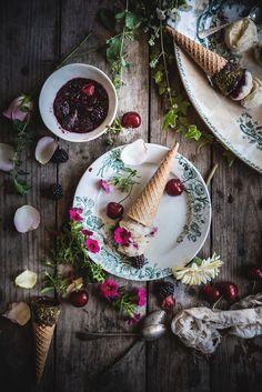 Gelato alla malvasia- Malvasia icecream- In the Mood for Summer - Frames of sugar-Fotogrammi di zucchero