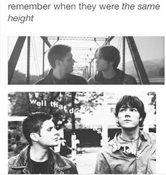 Remember when they were the same height?