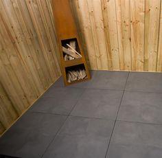 Axenta Plata 60x60x4 Noir: Nieuw in het TuinVisie assortiment zijn de Axenta terrastegels. Deze genuanceerde tegels zijn groot van formaat, onderhoudsvriendelijk en voorzien van een slijtvaste, basalt toplaag.   Axenta tegels zijn verkrijgbaar in vlak en slate, de vlakke variant heeft een glad oppervlak en Axenta slate is een tegel met een mooie structuur.