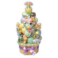 Precious Moments Easter Egg Tree