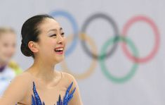 ソチ五輪のフィギュアスケート女子フリーで演技を終えた浅田真央。フリー自己ベストとなる142.71点で、合計198.22点を記録した(2014年02月20日) 【時事通信社】