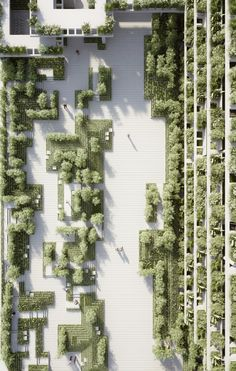 A New Landscape by Penda Is Inspired by Indian Stepwells and Water Mazes. Courtesy of penda