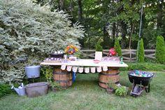WED Memphis. Biergarten Engagement Party. Bar 2