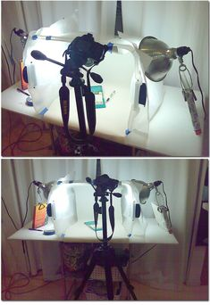 Tutorial- Make a light box for product photography