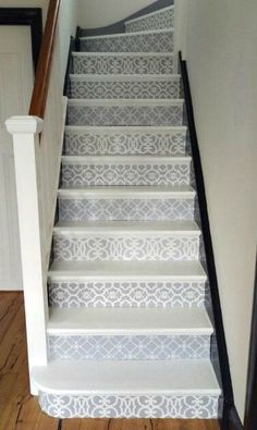 Great Painted Stairs Ideas