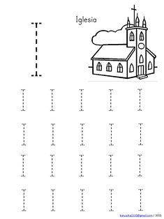 I I I I I  I I I I I  I I I I I  I I I I I  Iglesia  beruscka2310@gmail.com / 2015 Shape Worksheets For Preschool, Alphabet Writing Worksheets, Handwriting Worksheets For Kids, Preschool Writing, Numbers Preschool, Kindergarten Math Worksheets, Preschool Learning Activities, Letter E Activities, Sight Word Activities