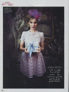 Our Parma Top & Violetta Skirt in yesterdays Fabulous Magazine ♥ 3rd feb, 2012