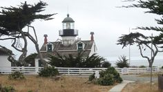 Pacific Grove, CA. Pount Pinos Lighthouse. Photo by Rebecca Kjolberg. June 2, 2013.