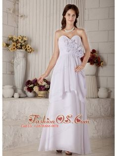 New Empire Sweetheart Maternity Wedding Dress Floor-length Chiffon Beading- $172.56  http://www.fashionos.com  http://www.facebook.com/quinceaneradress.fashionos.us  You`ll adore its chic, classic sweetheart neckline. Dazzling, shimmering flowers insets spice up the style of the fitted bodice. The flowing skirt begins at the waistline and billows breezily into a high layer in the middle of the skirt and then to the floor smoothly and nicely.