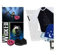 """""""Cake x DB: The Wicked Ones"""" by alwaysroyal on Polyvore featuring Coqui Coqui, Converse, contestentry and wickeddisneybound"""