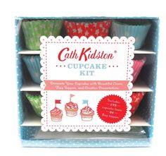 Cupcakes Recipe Book Gift Set Cath Kidston Cupcake Kit