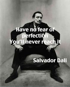 Spanish painter Salvador Dali photograoher by Irving Penn. The Dali Museum Figueres is amazing. Words Quotes, Wise Words, Me Quotes, Motivational Quotes, Inspirational Quotes, Sayings, Irving Penn, Great Quotes, Quotes To Live By
