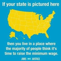 Raise The Minimum Wage to a Living Wage!