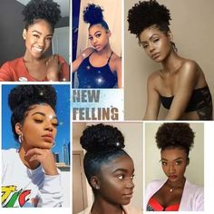 Attractive Afro Hairstyles High bun hairstyles for black women l half up half down hair black women l african americans hairstyles l african american hairstyles updo l african High Bun Hairstyles, Black Women Hairstyles, Braided Hairstyles, Tapered Natural Hairstyles, Natural Protective Hairstyles, Hairstyles Videos, Puff Ponytail, Curly Bun, Curly Afro
