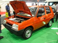 Skoda Shortcut, an electrically-powered prototype, 1990