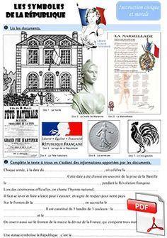 Les symboles de la République - fiche