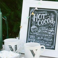 Hot Cocoa Recipe - Print
