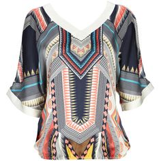 Aztec Cold Shoulder Blouson and other apparel, accessories and trends. Browse and shop 7 related looks.