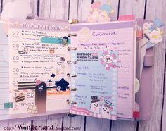 Lucy-Wonderland: Week planner 77#