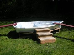 Boat play...also be neat to fill with sand for a sandbox!