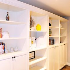 Ikea Billy Bookcase Hack Design Ideas, Pictures, Remodel, and Decor