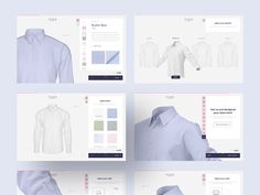 Digital shirt configurator