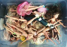 Barbie Orgy  -  #art  #photography  #contemporary