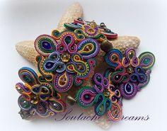 Soutache JewelrUnusual Handmade Soutache Jewelry by SoutageDreams