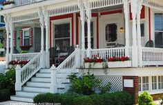traditionally sized turned porch railings