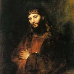 Rembrandt Harmenszoon van Rijn (Dutch [Dutch Golden Age, Baroque] Christ with Arms Folded Monet, Renaissance Kunst, Pictures Of Christ, Dutch Golden Age, Dutch Painters, Religious Art, Catholic Art, Christian Art, Painting & Drawing