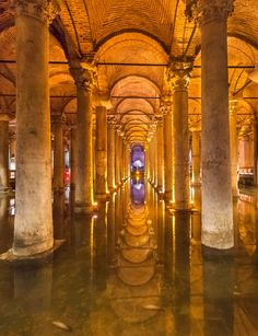 Basilica Cistern - Istanbul, Turkey