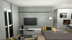 Sala de estar do apê 3D — Niina Secrets