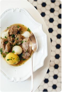 Best, easiest lamb stew from The Complete Robuchon | Chubby Hubby