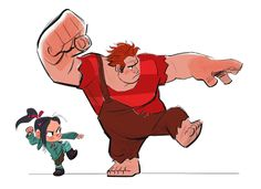 Living Lines Library: Wreck-It Ralph (2012) - Characters: Wreck-It Ralph