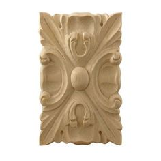 Appliques: Embossed and Carved Wood appliques in Oak, Maple, Cherry and Walnut Wood Appliques, House Trim, Rockler Woodworking, Acanthus, Solid Wood, Restoration, Lion Sculpture, Carving, Statue
